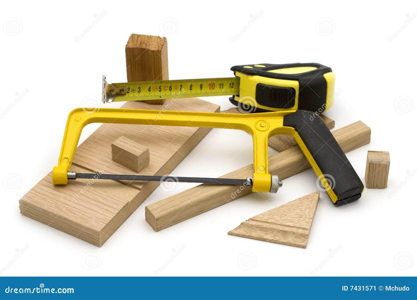 outil de menuiserie image stock image du scie bande 7431571. Black Bedroom Furniture Sets. Home Design Ideas
