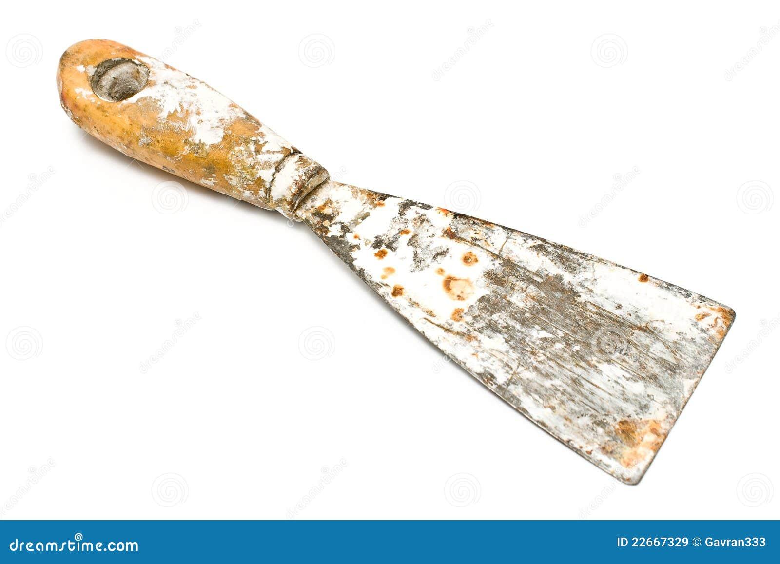Outil modifi rouill de grattoir de spatule images libres for Enlever rouille sur outils