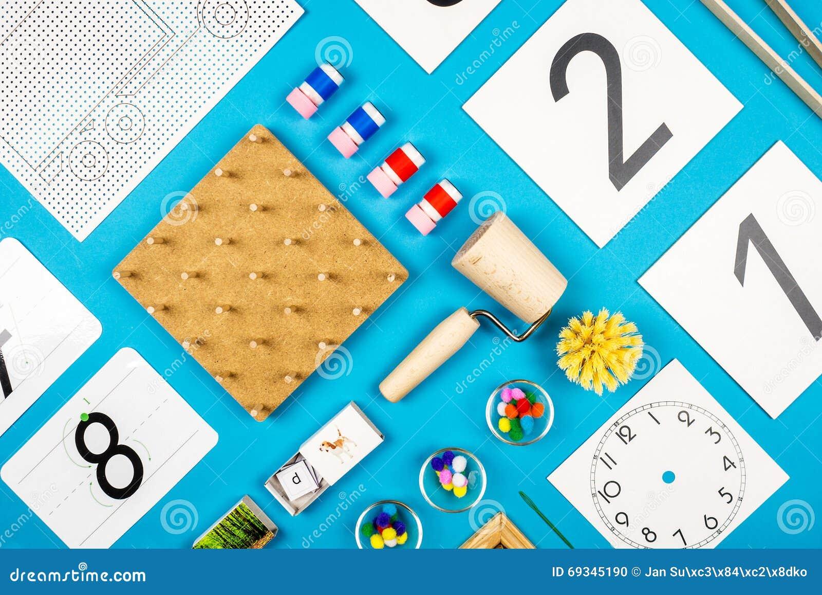 Outils d école maternelle de Montessori