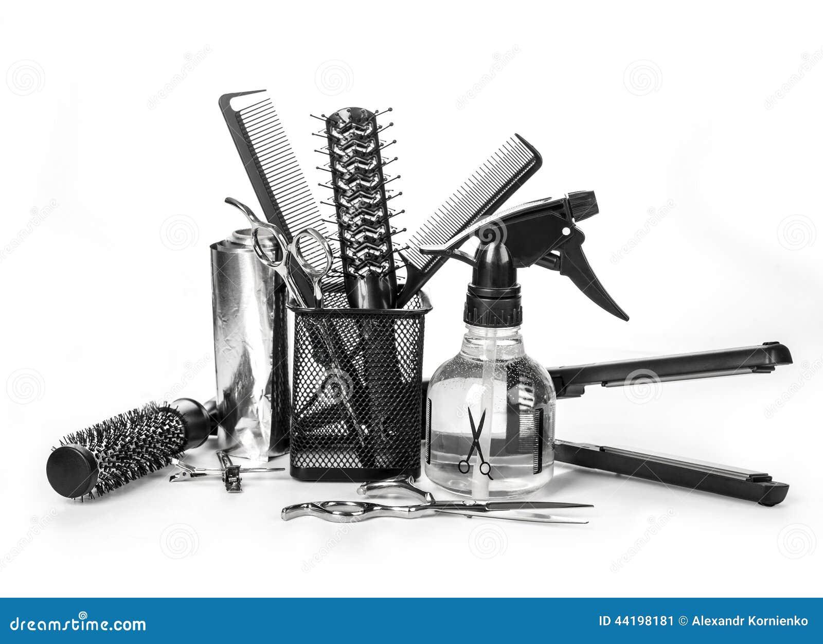 Outils De Coiffeur Photo Stock - Image 44198181