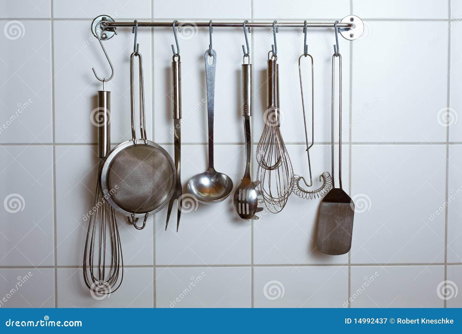 outils de cuisine image stock image du ustensiles personne 14992437. Black Bedroom Furniture Sets. Home Design Ideas