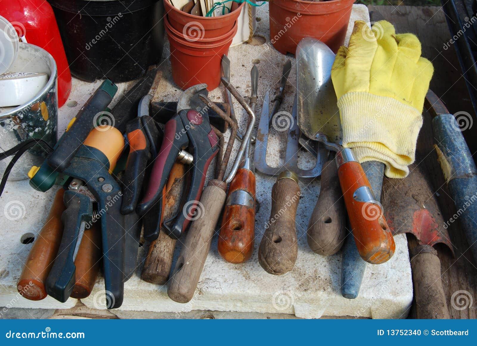 Outils De Mat Riel De Jardinage Photo Stock Image 13752340