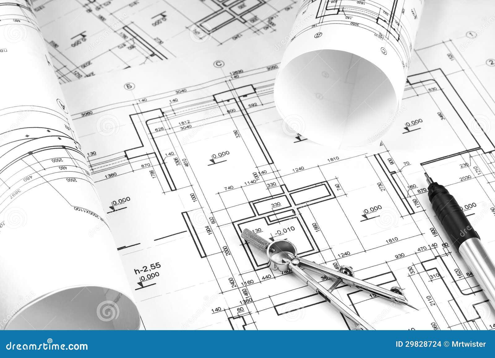 Dessins De Construction Images Stock Image 29828724