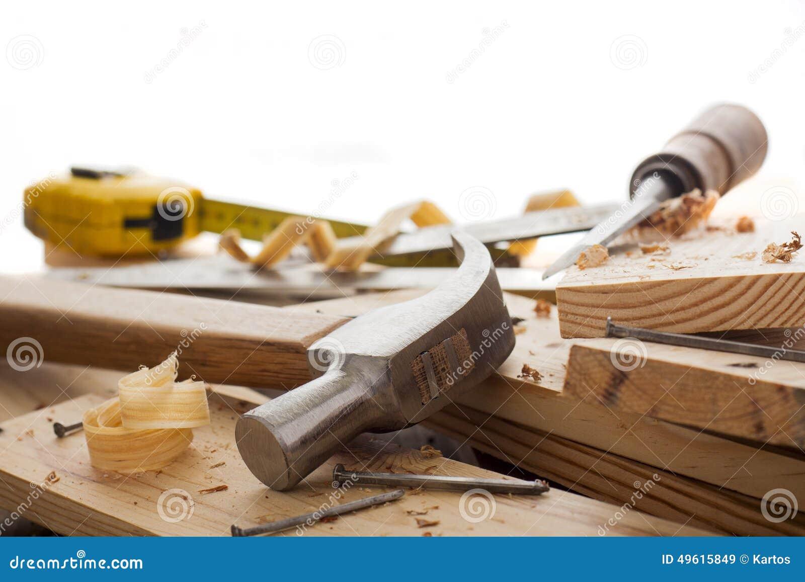 Outils de travailleur du bois