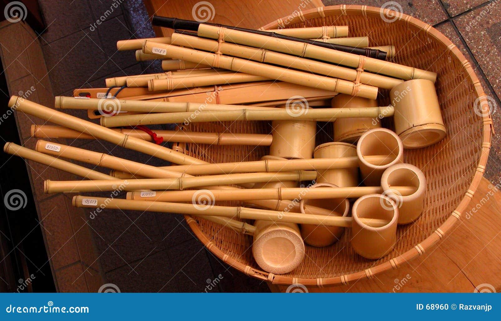 Outils en bambou