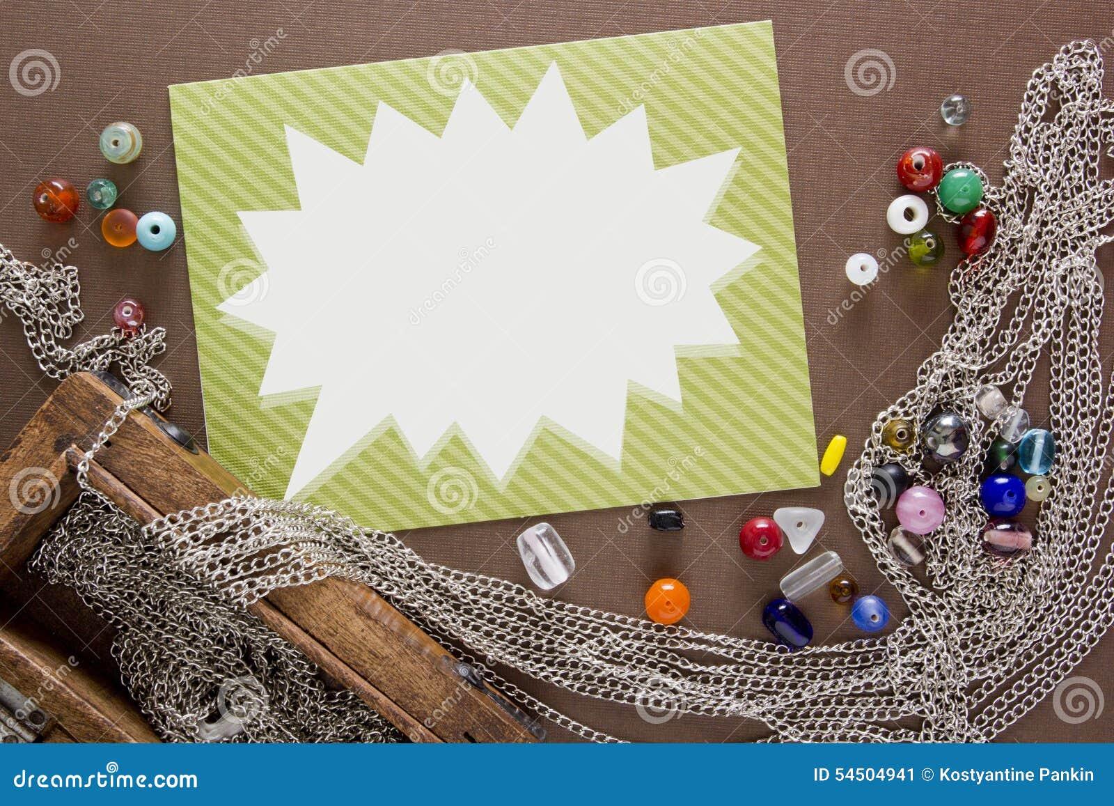 Outils et articles pour des bijoux