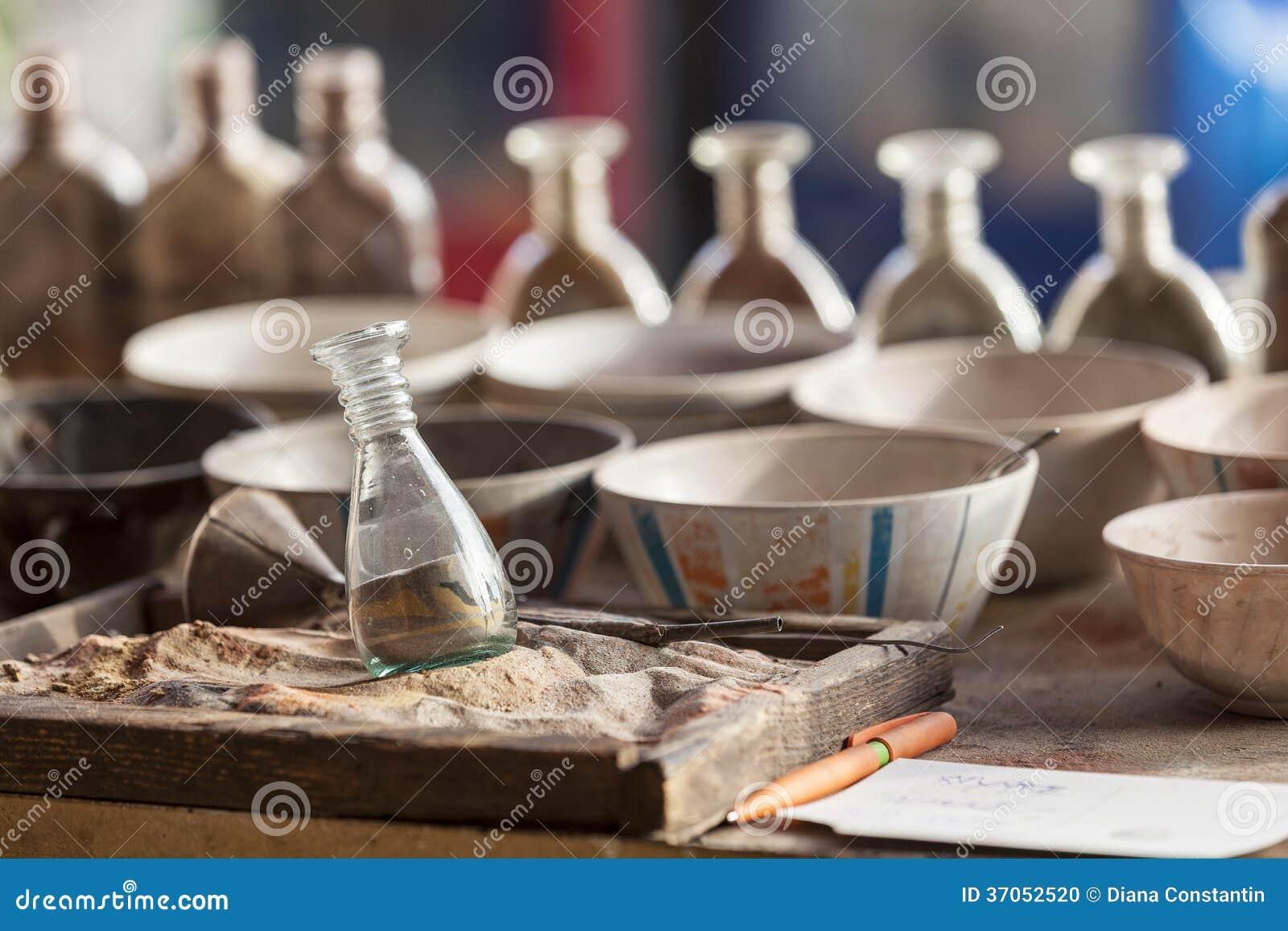 Outils pour sandpainting