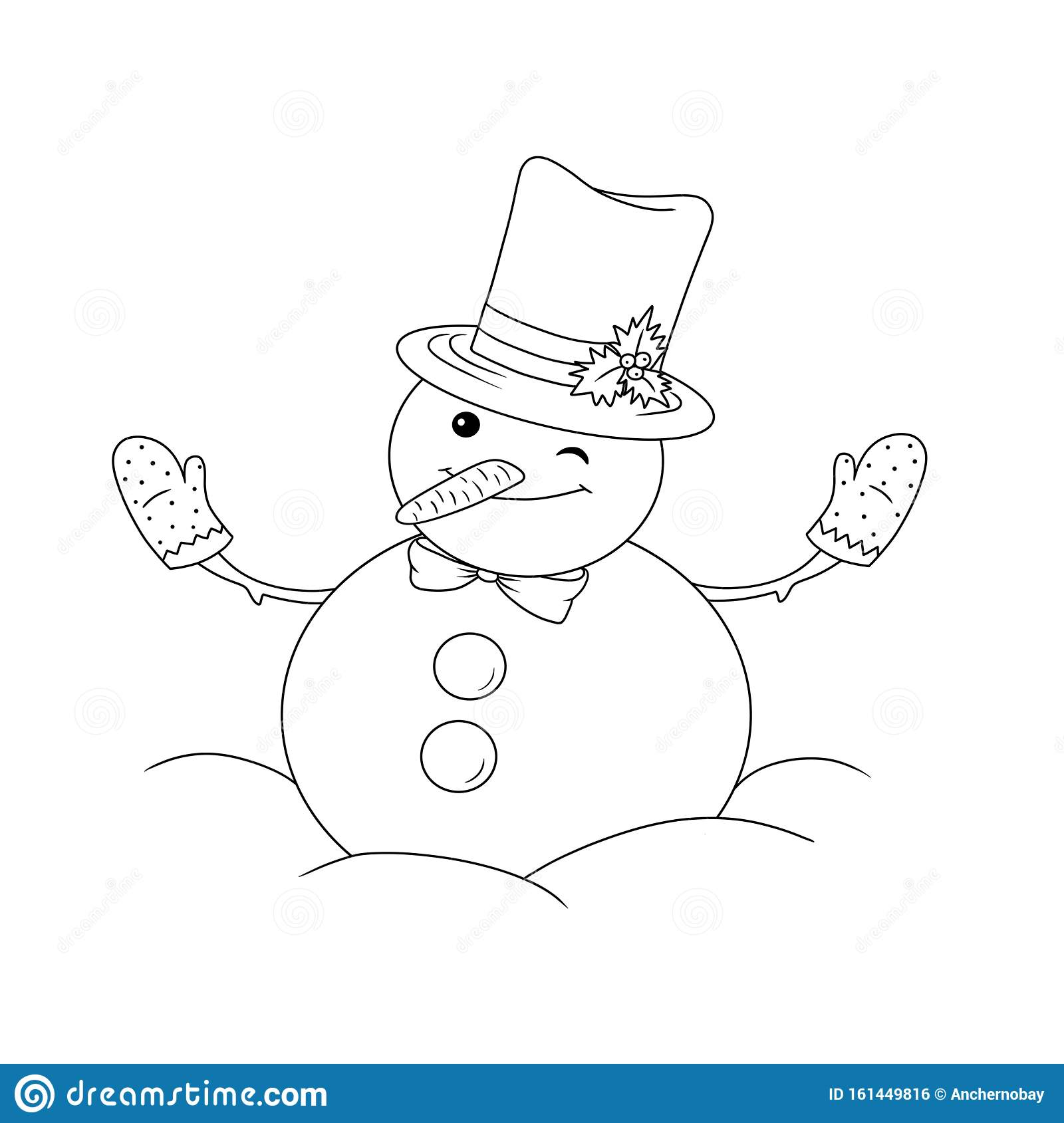 Warm Clothes, Hat, Gloves, Mittens, Scarf Coloring Vector For ... | 1689x1600