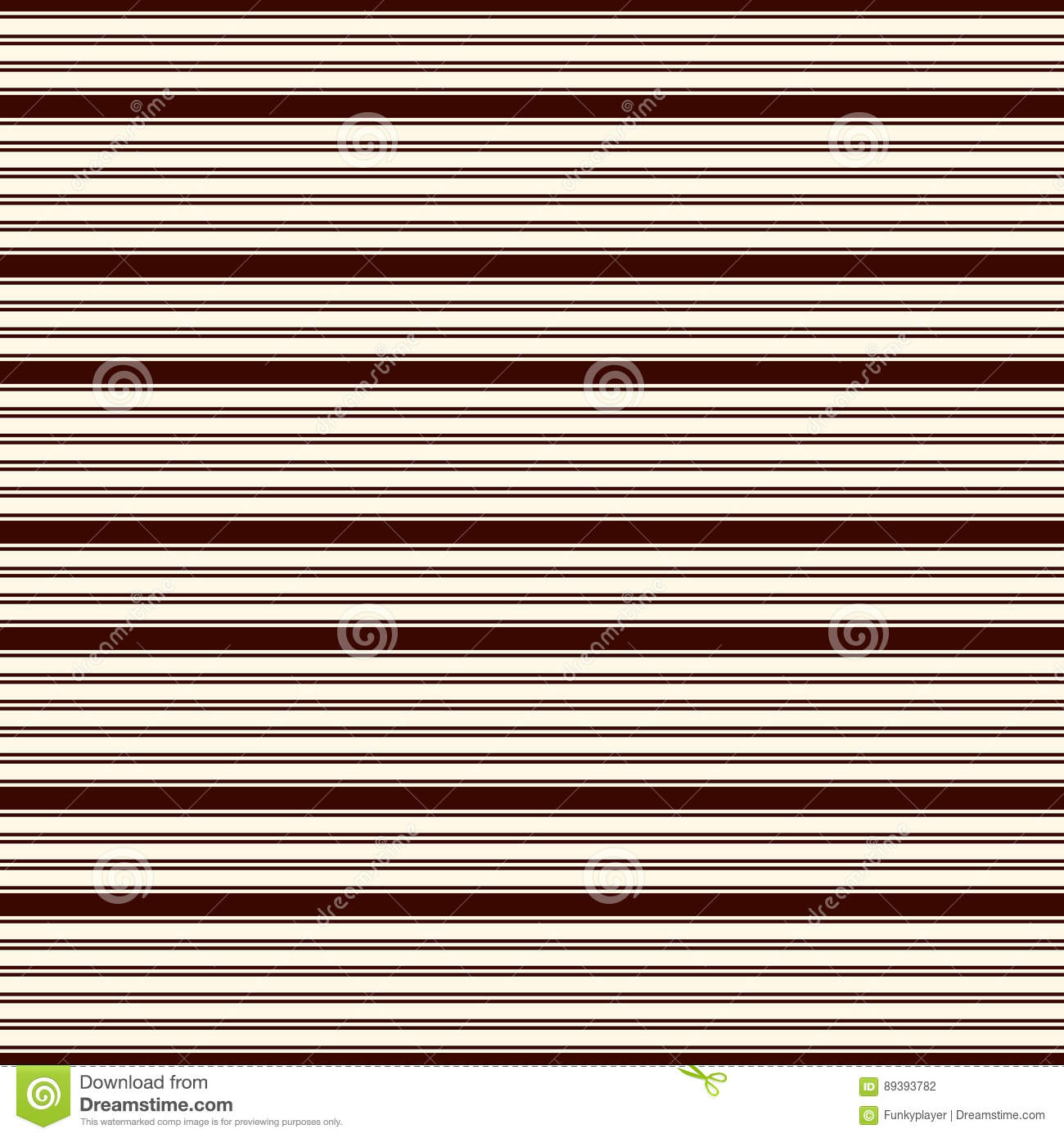 Outline Horizontal Stripes Abstract Background Thin Stright