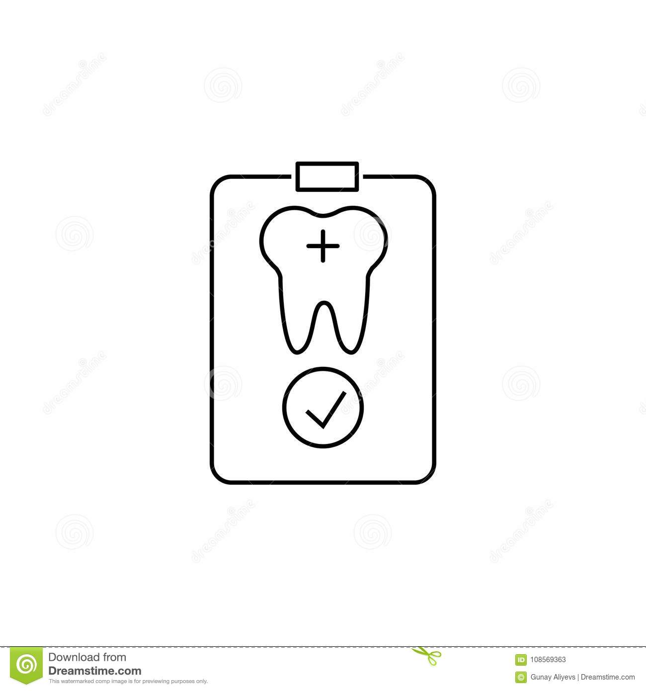 Outline icon of patient card symbol of medical equipment for web symbol of medical equipment for web design or mobile app thin line signs of card for design logo v biocorpaavc Choice Image
