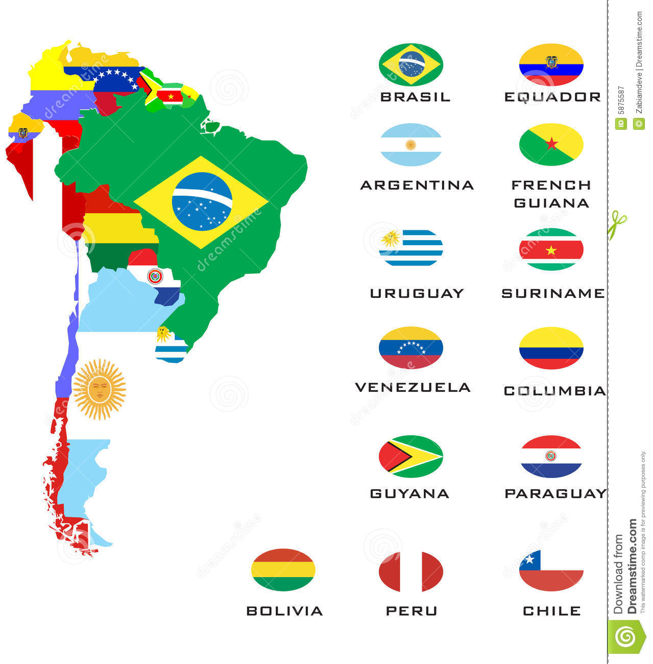 south america royalty free stock photography image 1449347