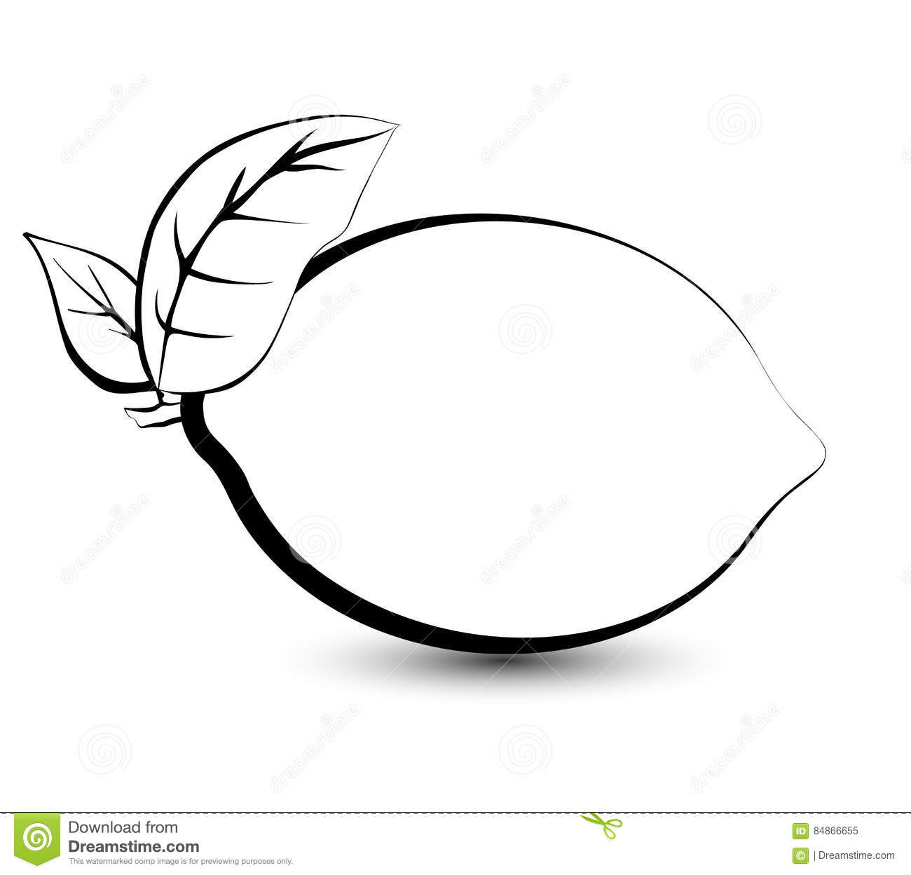 Lemon Drawing Black And White | www.pixshark.com - Images ...