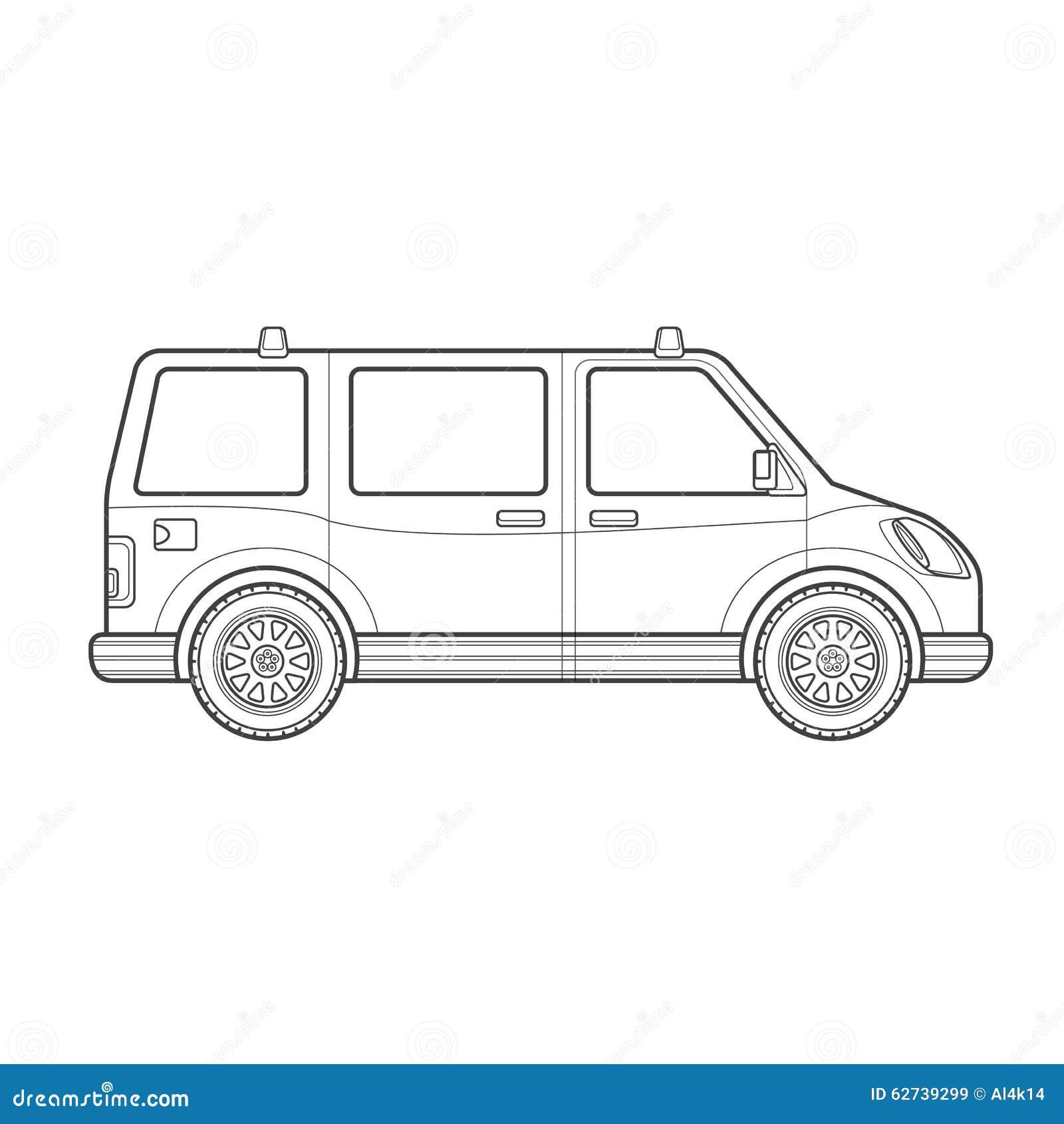 Car Body Type Vector Illustration Icon Cartoon Vector