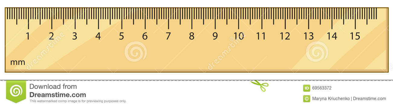 Drawing Lines With A Ruler Ks : Outline vector ruler stock illustration of number