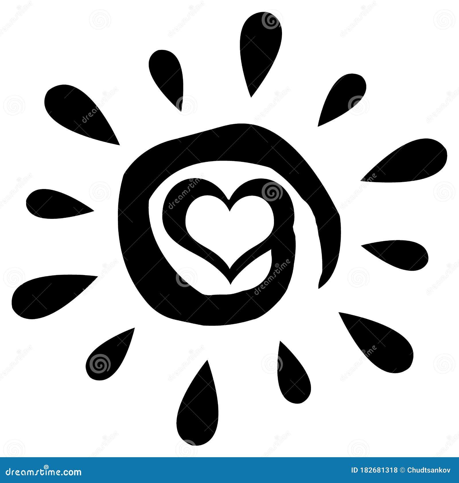 Sun Heart Stock Illustrations – 22,615 Sun Heart Stock Illustrations,  Vectors & Clipart - Dreamstime