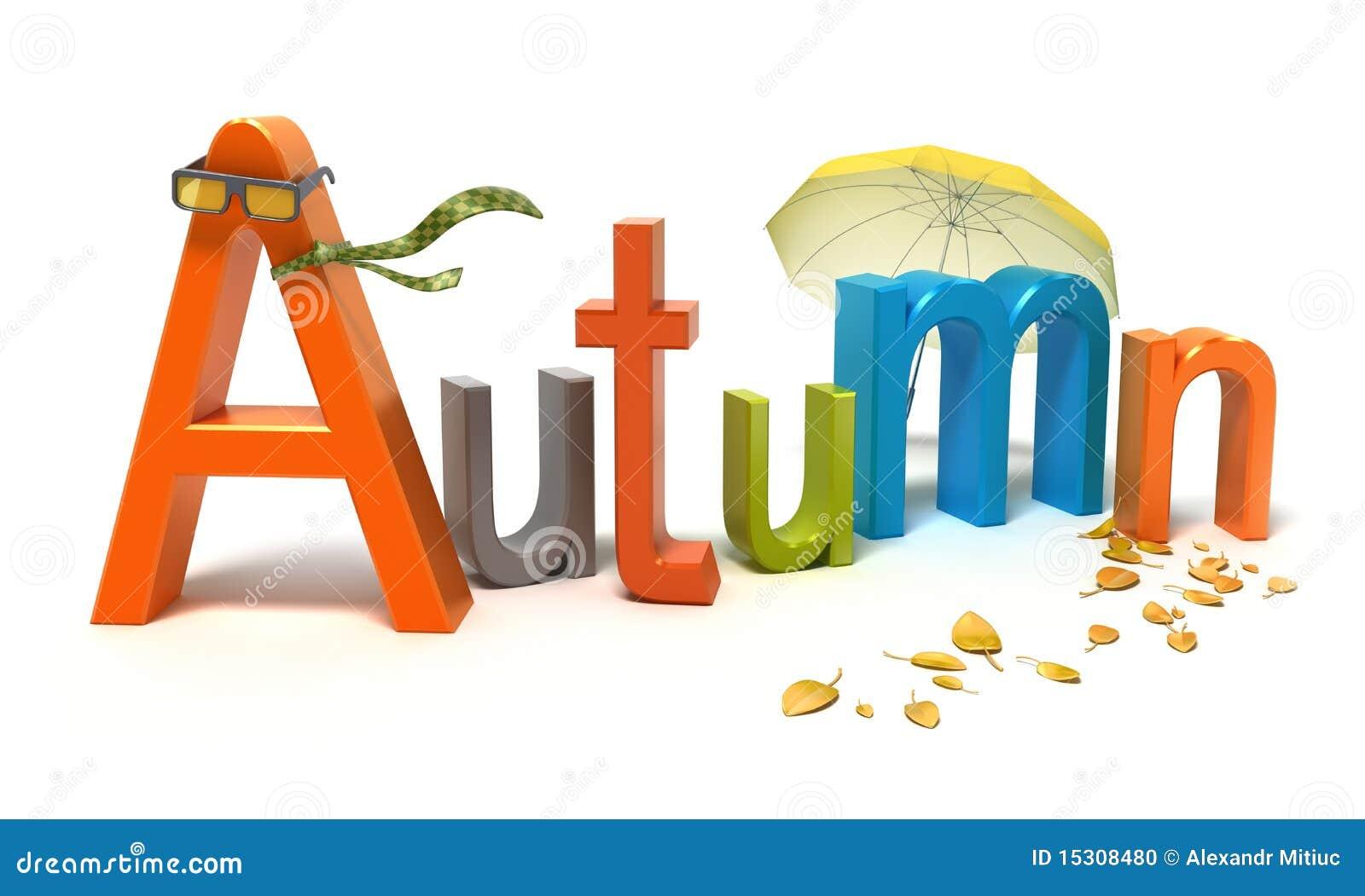 #B84413 Outono Da Palavra Com Letras Coloridas Foto de Stock Imagem  164 Janelas De Vidro Letra