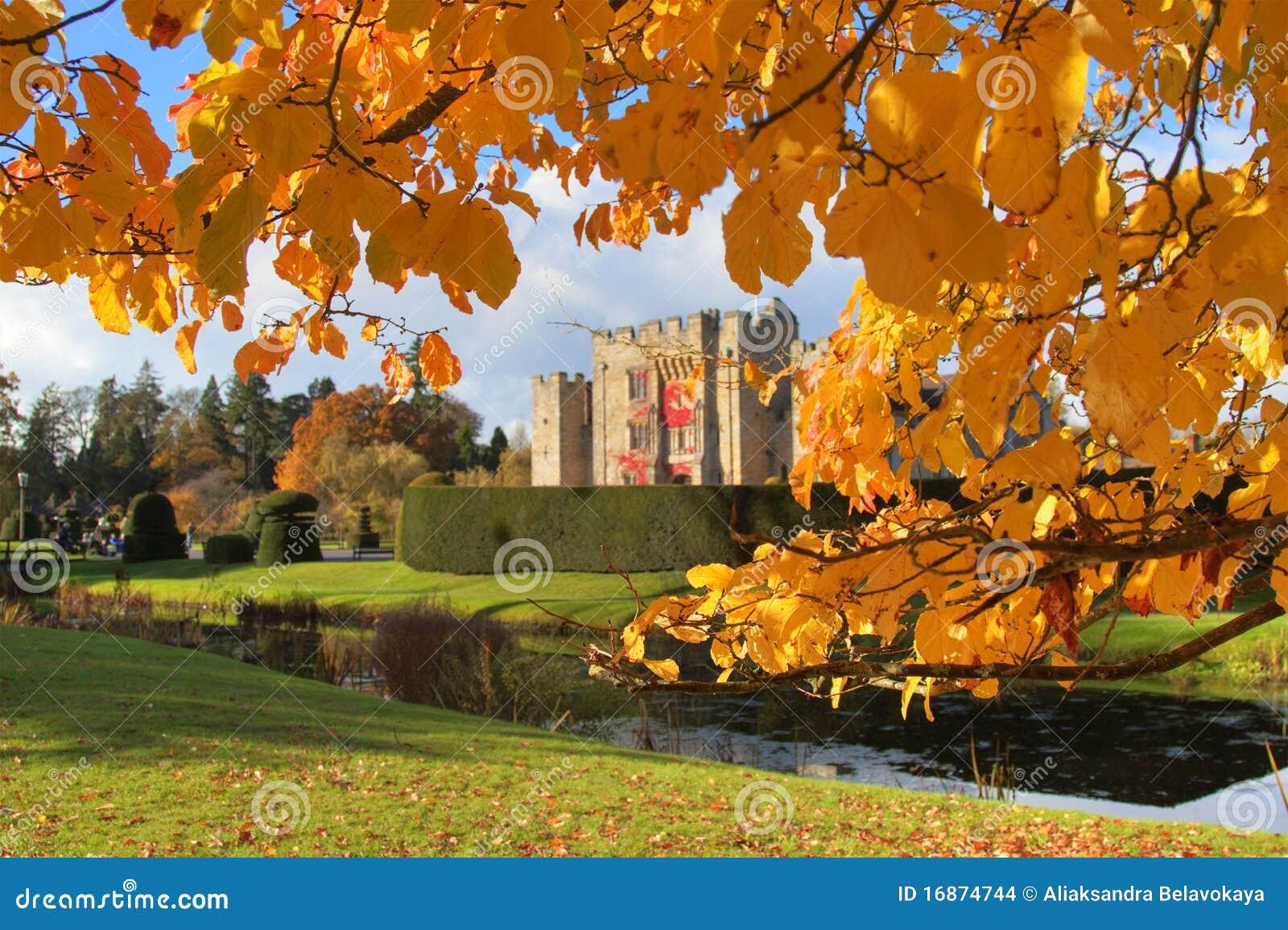 Outono no castelo de Hever
