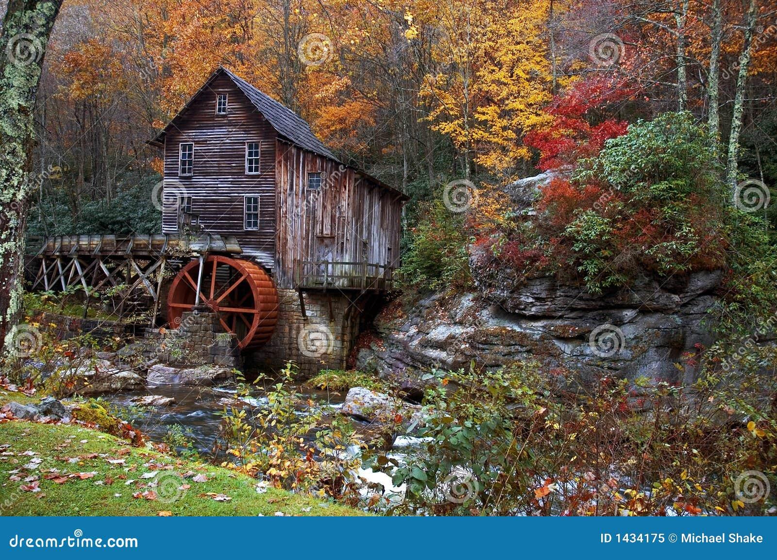 Outono no moinho da munição