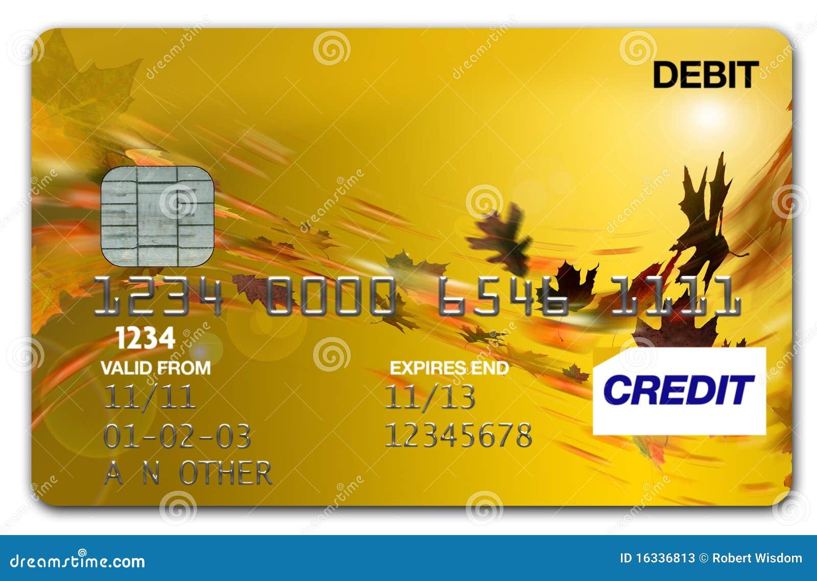 Outono/queda do cartão de visto