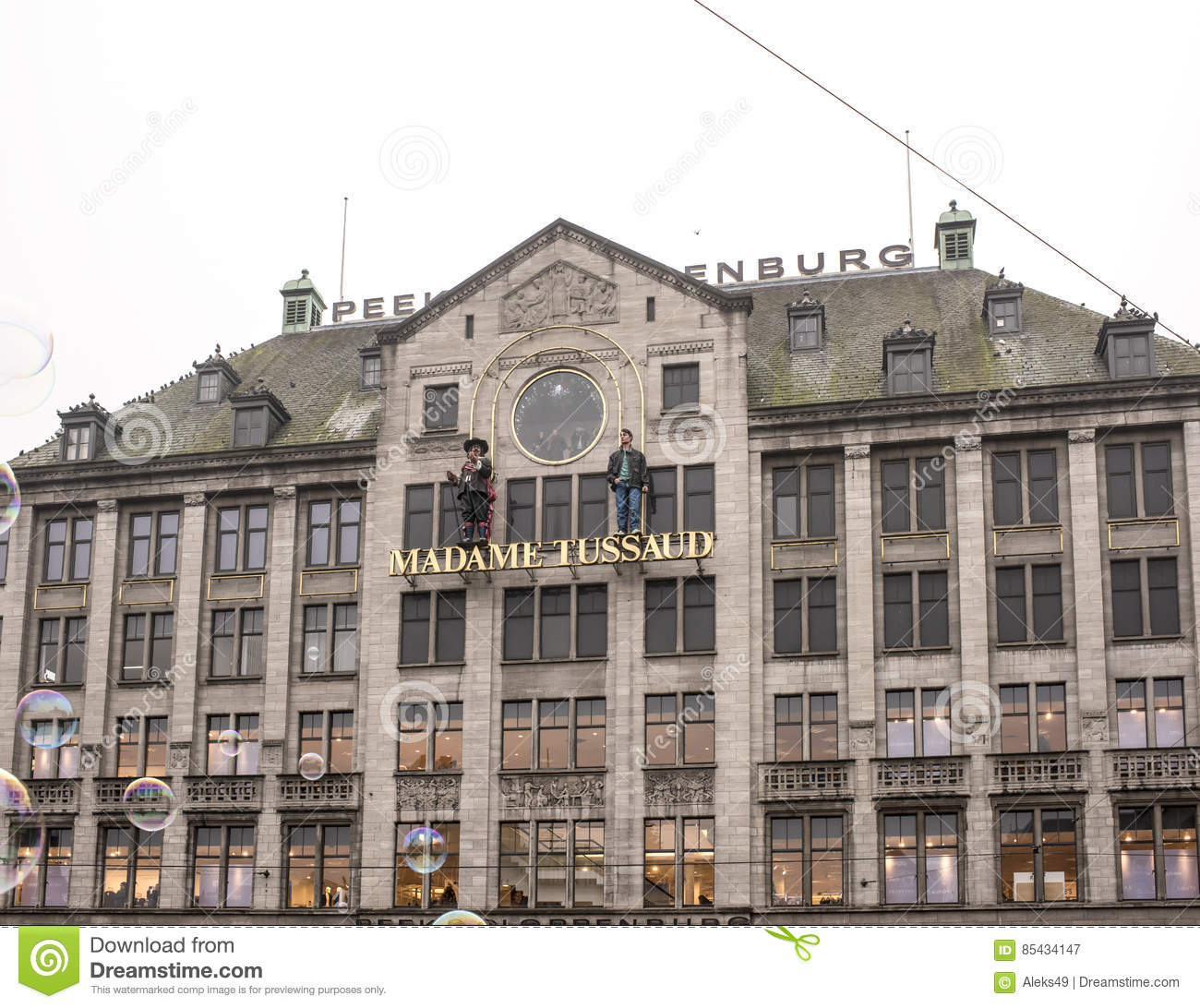 334de545b6685f The Outside Of The Peek   Cloppenburg And Madame Tussaud Building ...
