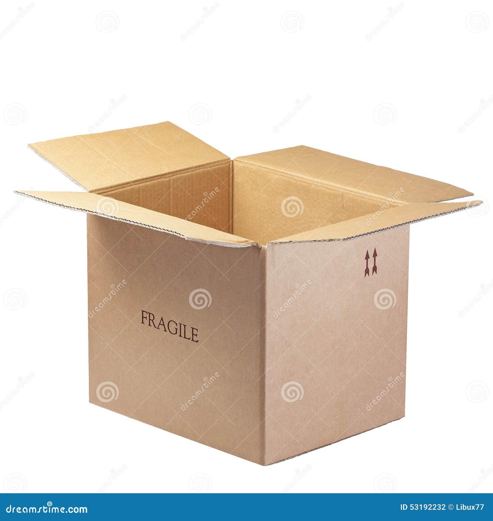 Ouvrez fragile d isolement par boîte