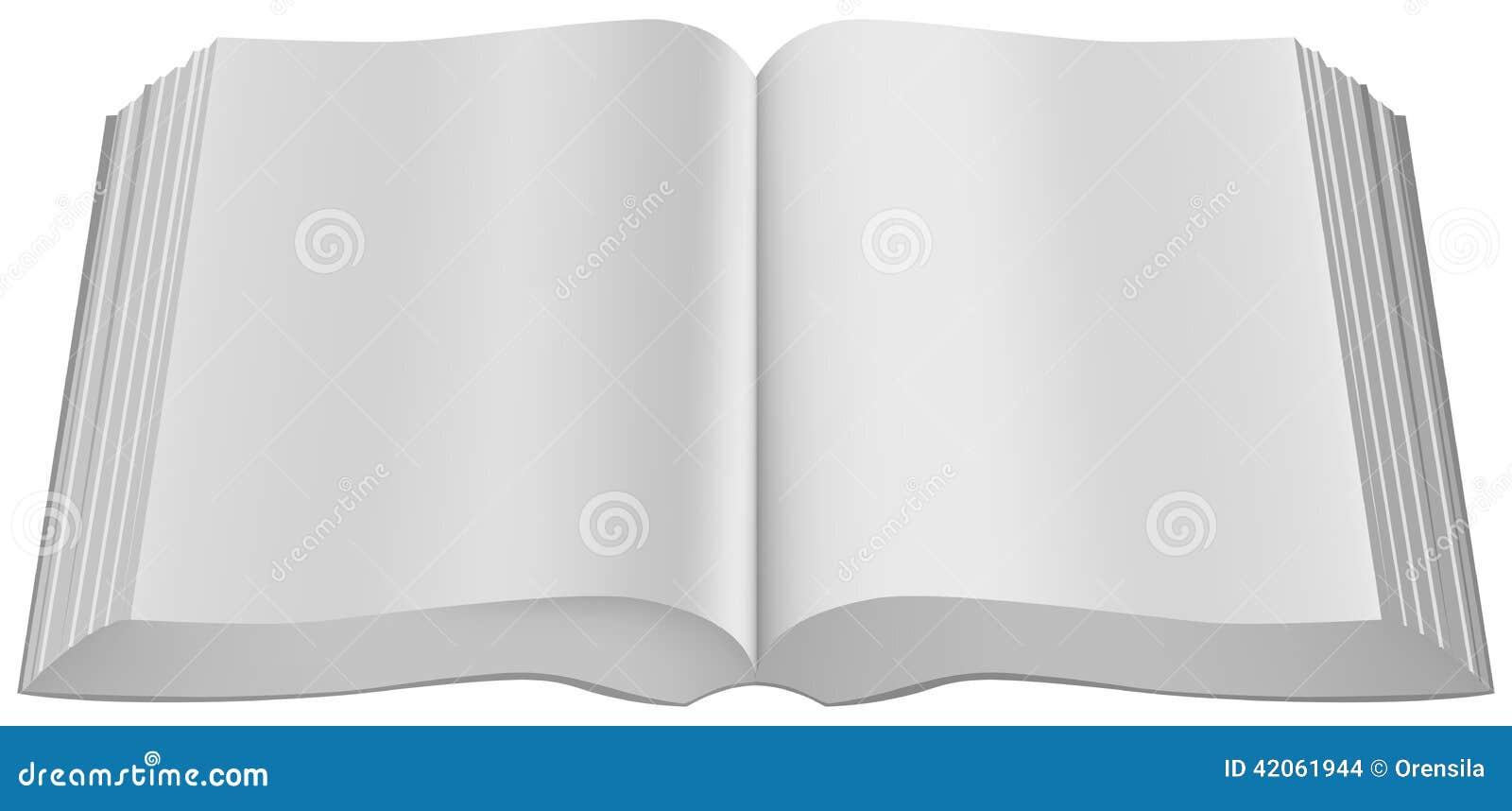 Ouvrez L Attache Molle De Grand Livre Broche De Livre
