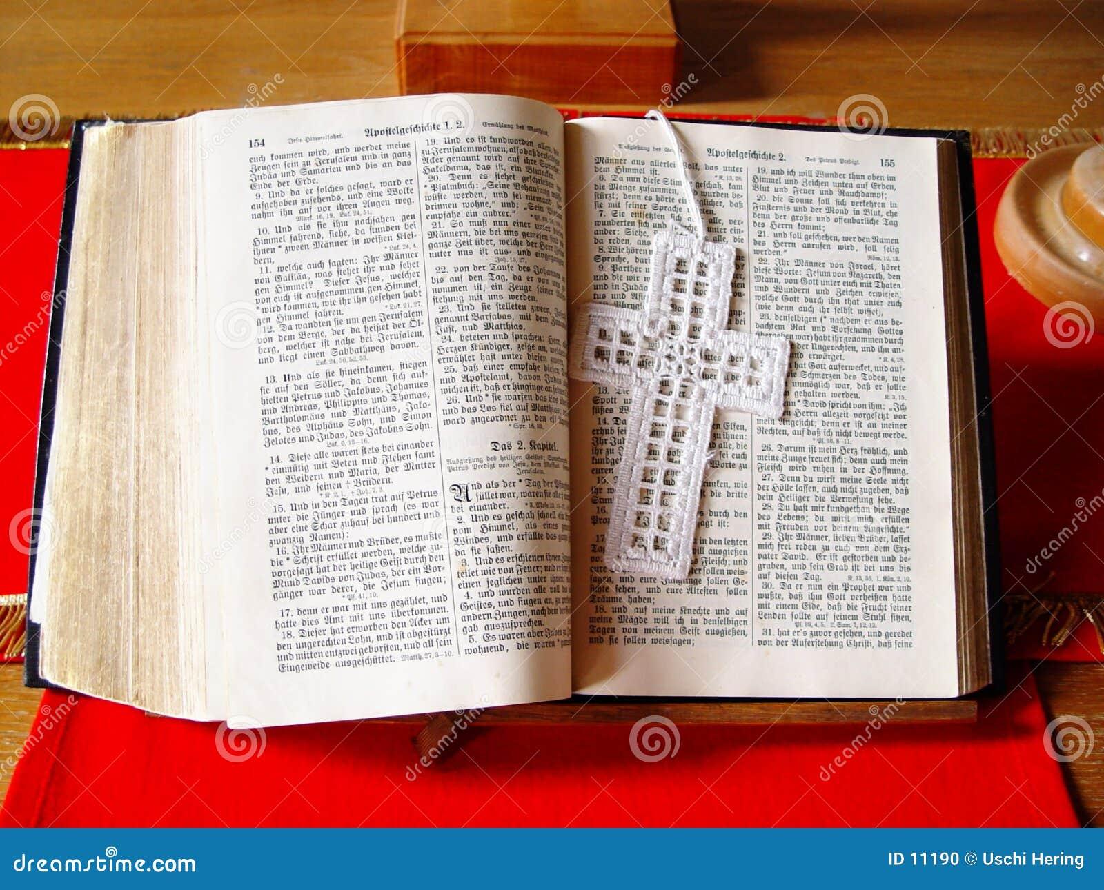 Ouvrez la bible