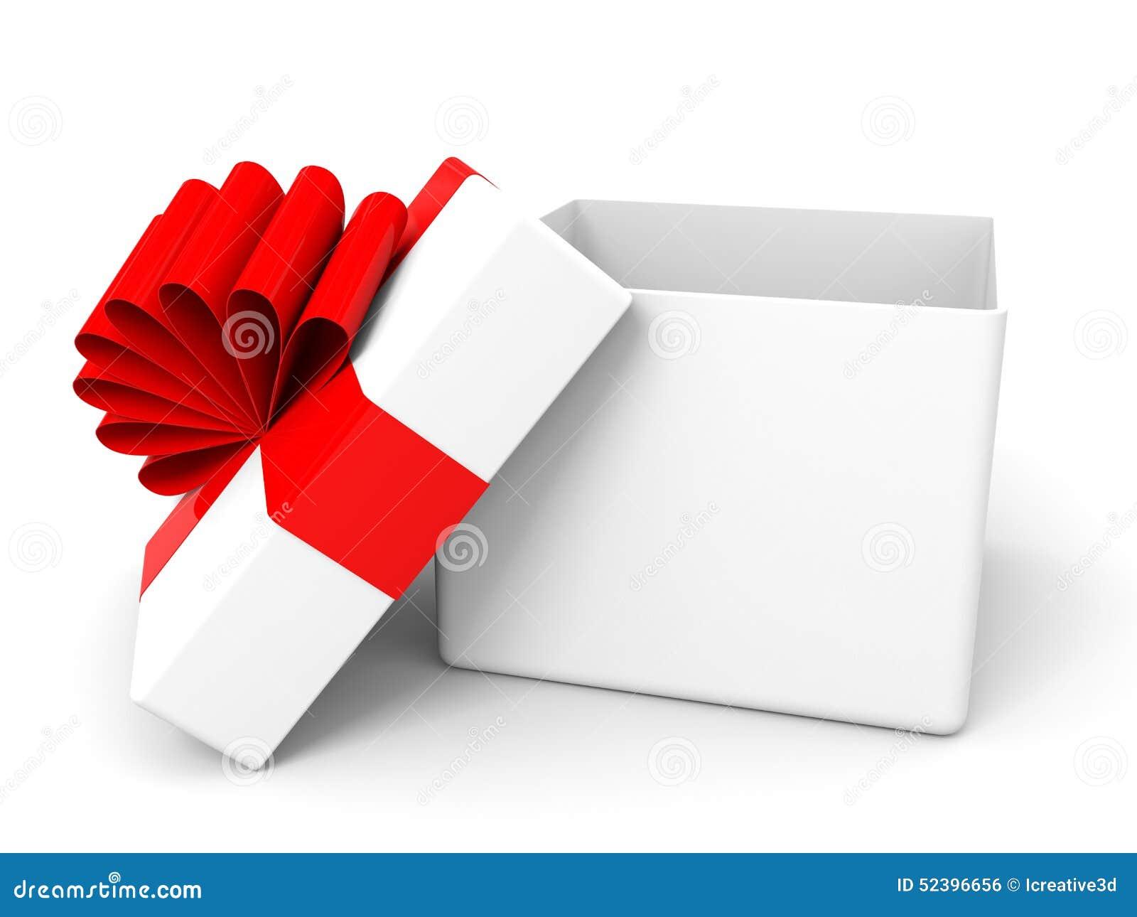 ouvrez la bo te cadeau de no l illustration stock image 52396656. Black Bedroom Furniture Sets. Home Design Ideas