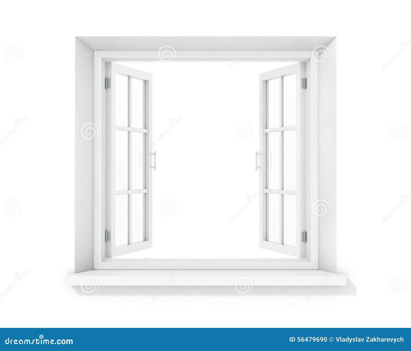 Ouvrez la fenêtre vide