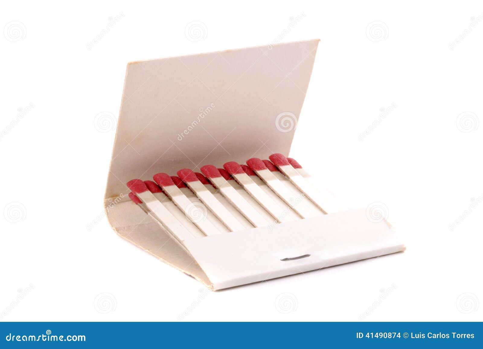 Ouvrez la pochette d allumettes