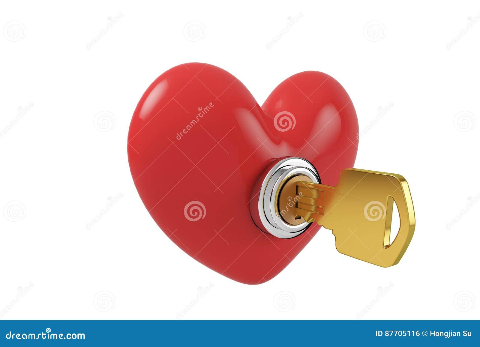 Ouvrez la serrure de coeur