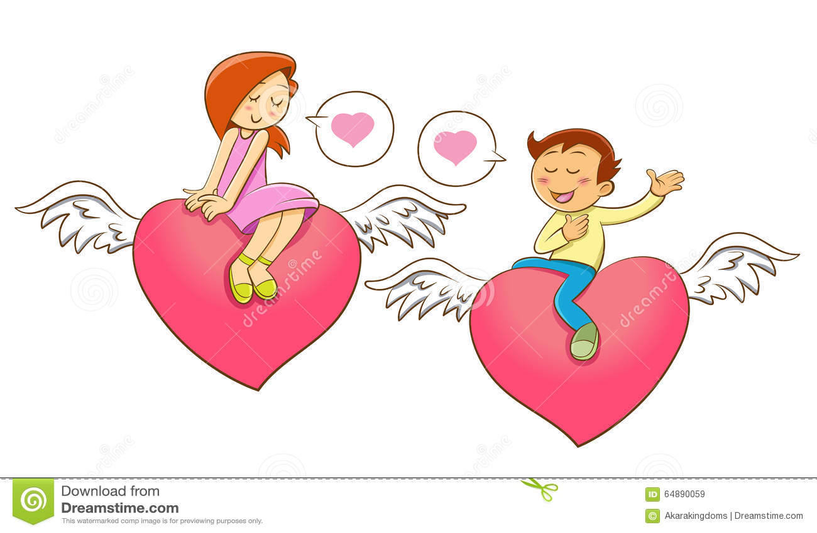 Ouvrez le personnage de dessin anim de coeur pour la saint valentin illustration de vecteur - Coeur pour la saint valentin ...