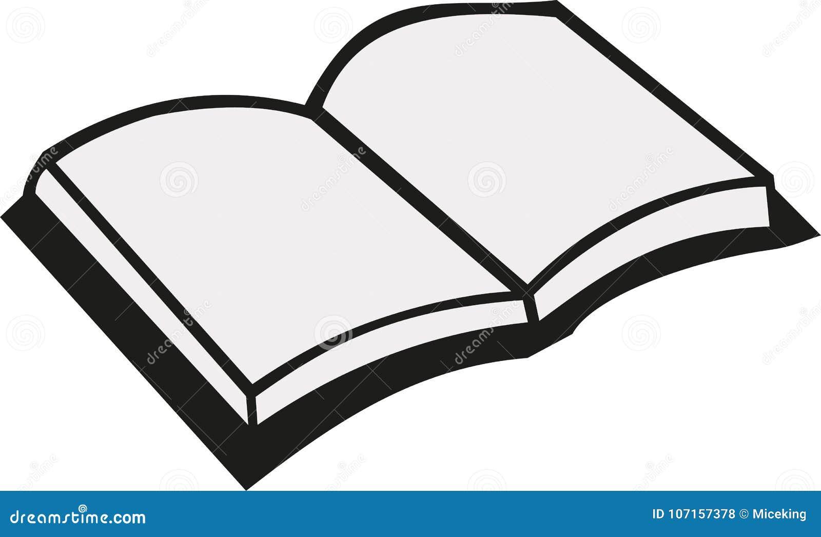 Ouvrez le vecteur de livre