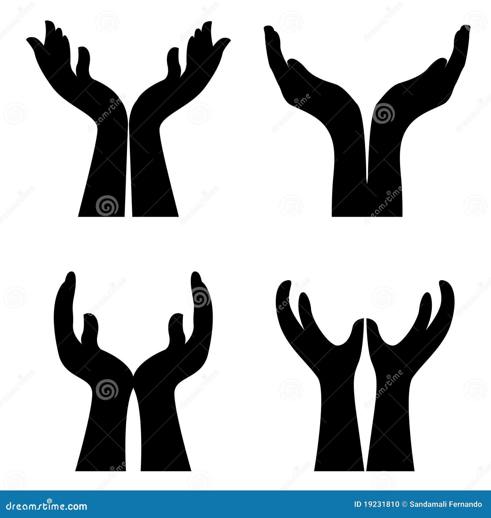 Ouvrez les mains illustration de vecteur illustration du mains 19231810 - Dessin 2 mains ...