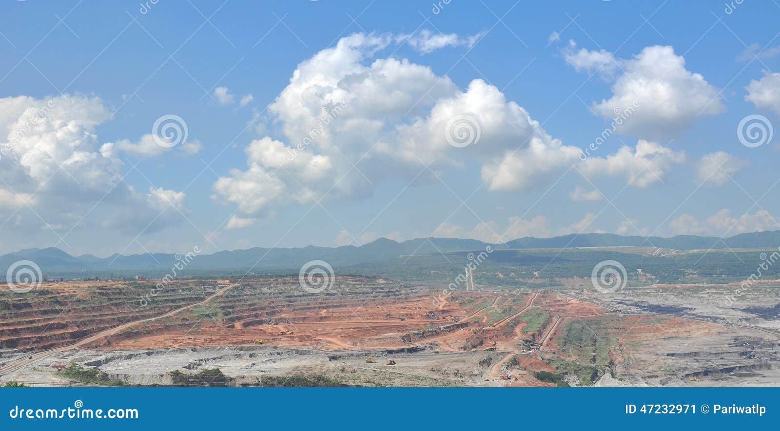 Ouvrez Pit Mining