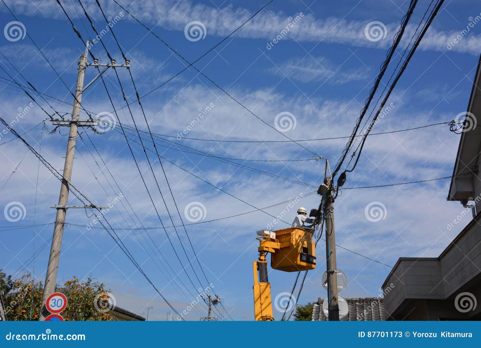 Ouvrier électrique