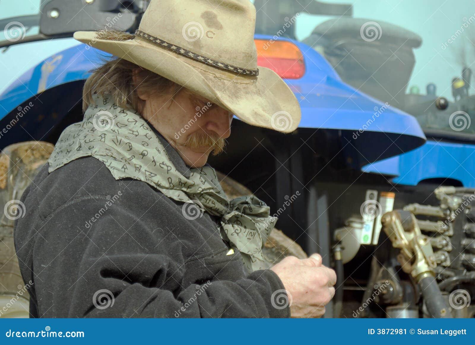 Ouvrier de ferme