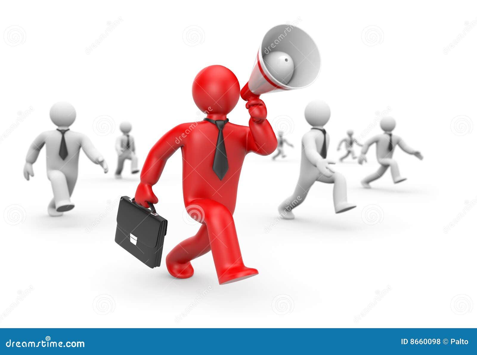 Ouvriers de recrutement de concept d affaires