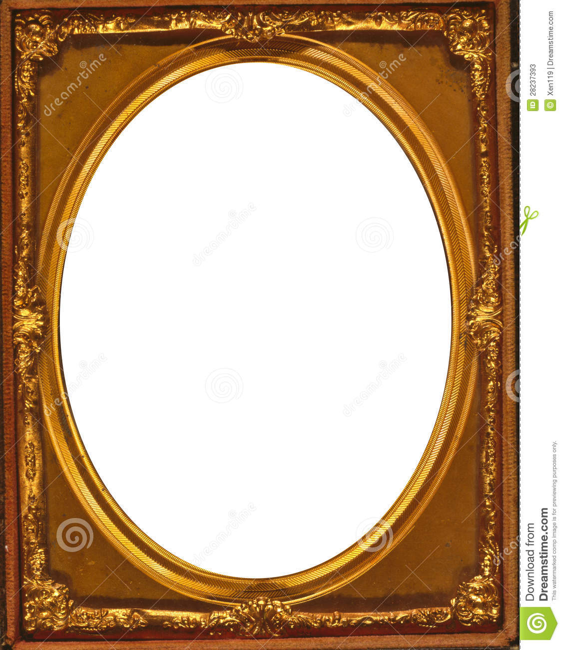 Oval Frame Stock Illustration Illustration Of Decorative