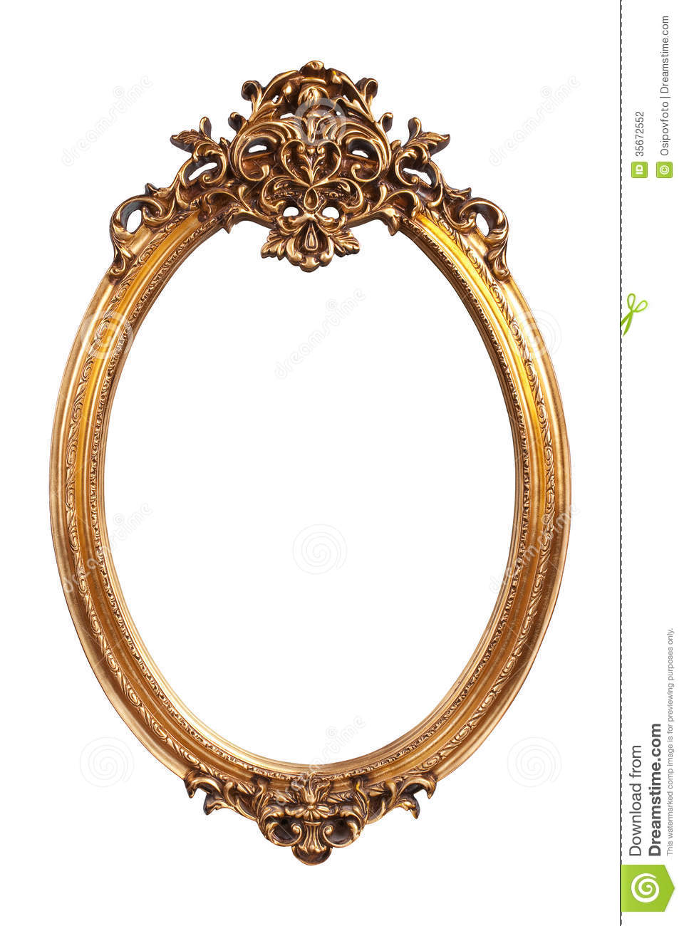 gallery images and information vintage gold oval frame