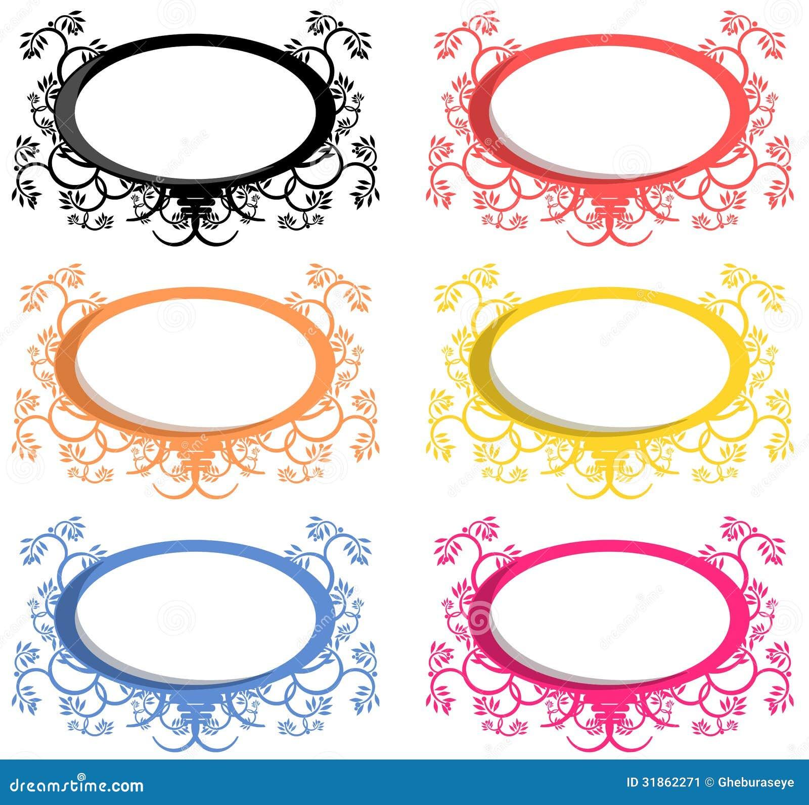oval logo stock image image 31862271