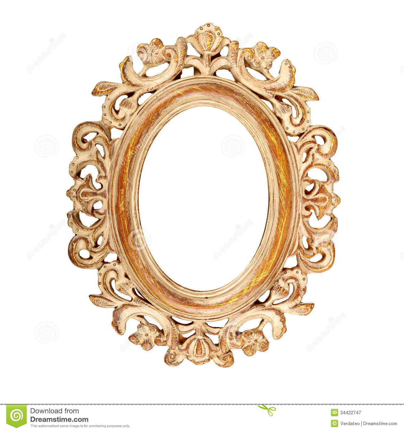 oval picture frame royalty free stock photography