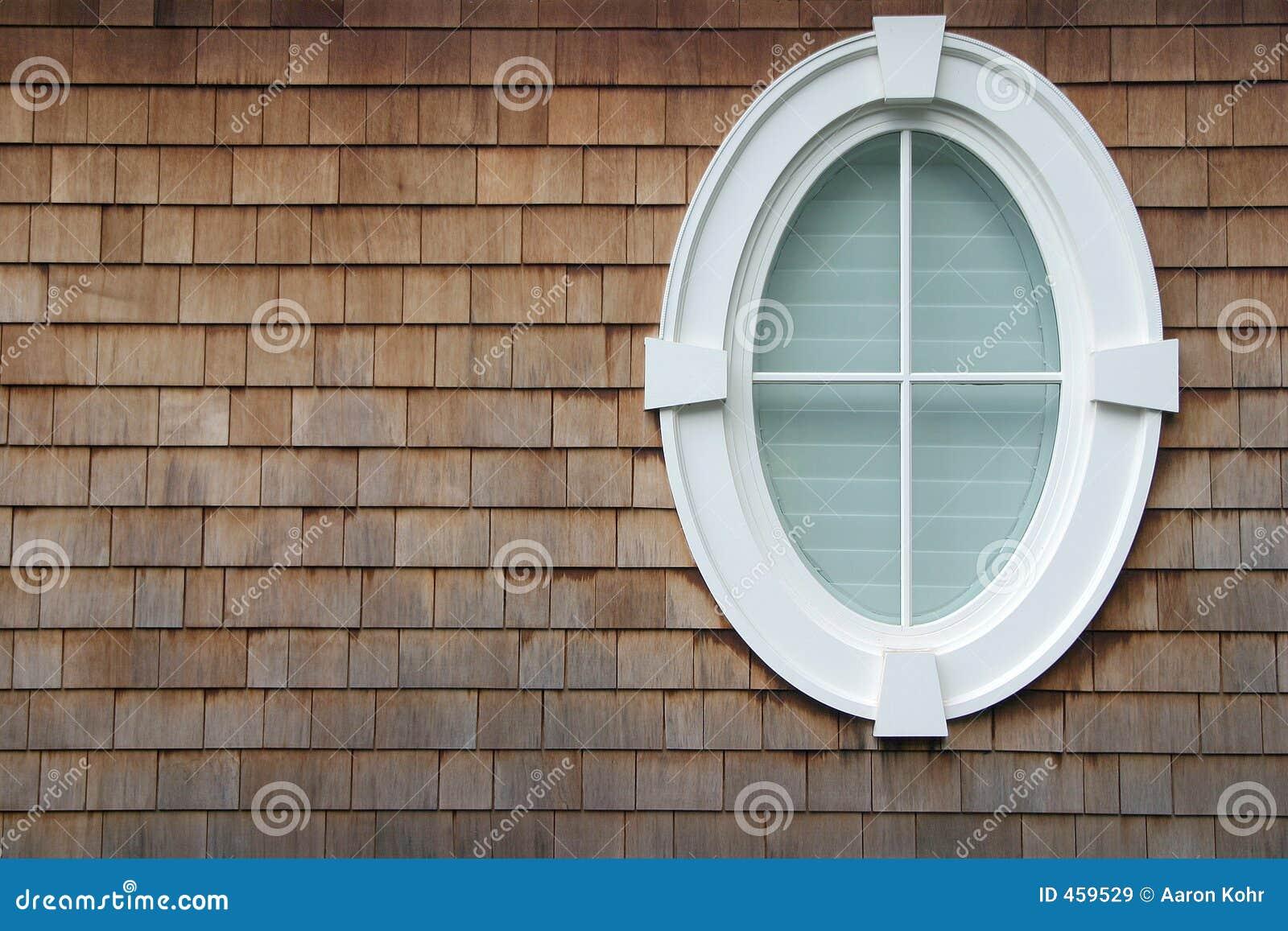 ovales fenster stockbild bild von haupt elliptisch geformt 459529. Black Bedroom Furniture Sets. Home Design Ideas
