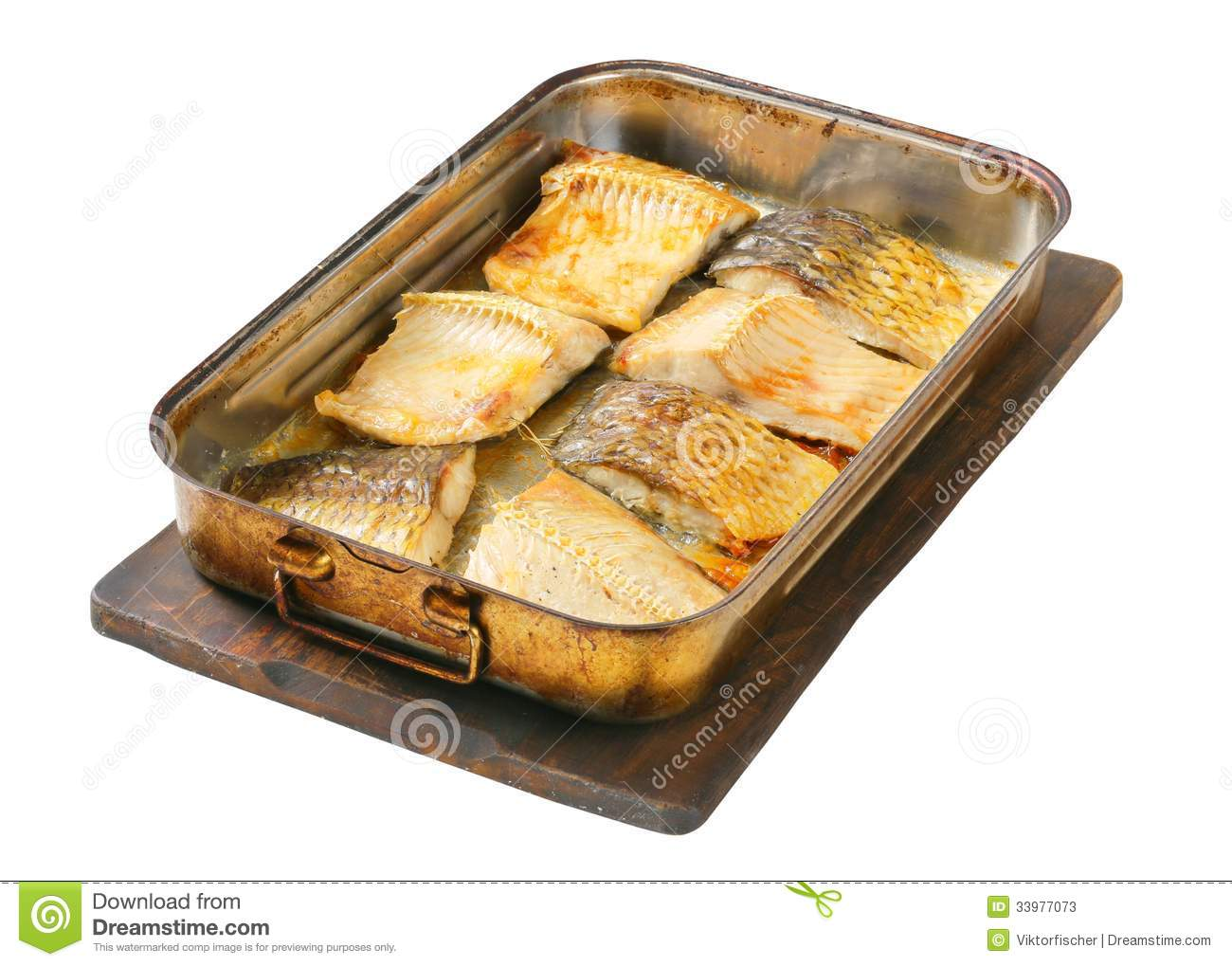 how to cook carp in oven