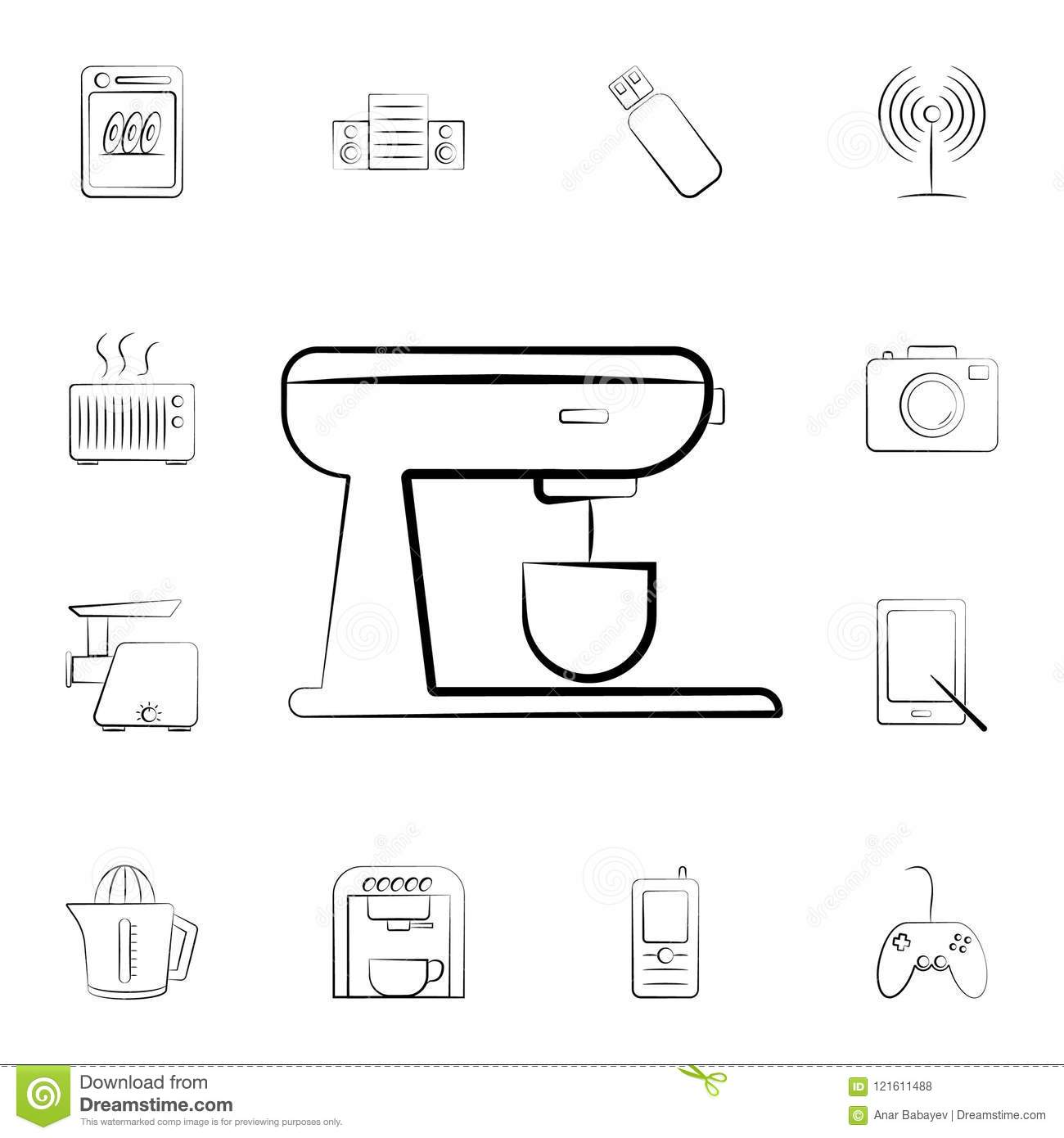 oven icon. Detailed set of home appliances. Premium graphic design. One of the collection icons for websites, web design, mobile a
