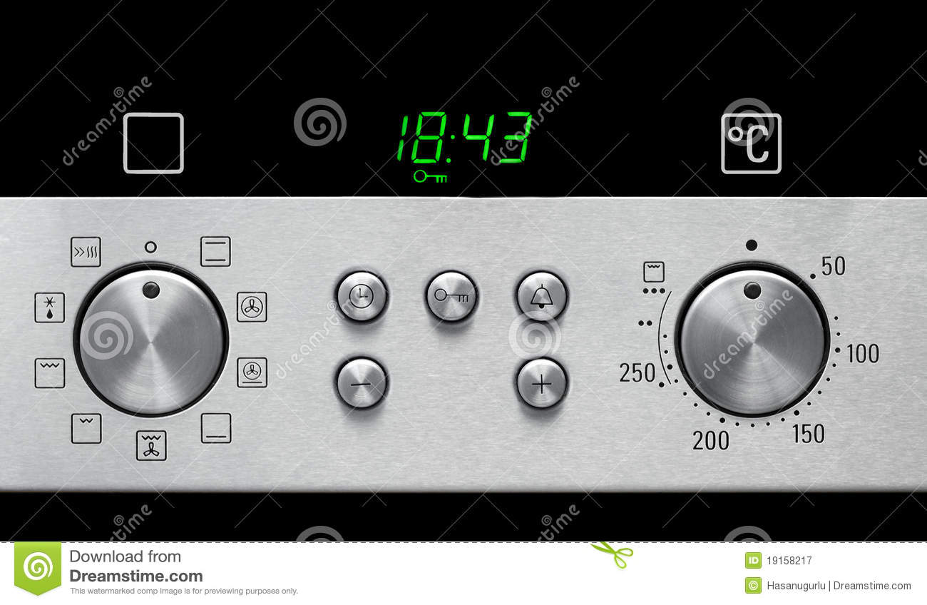 Oven Settings Royalty Free Stock Photography Image 19158217