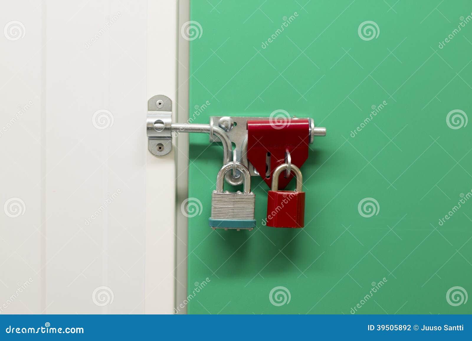 Over locked Storage unit