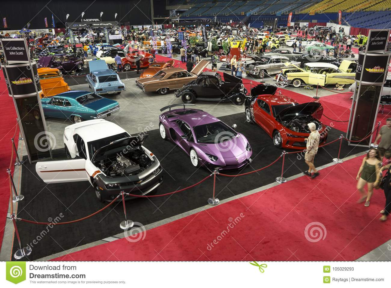 Indoor Car Show Editorial Stock Photo Image Of Mechanic - Indoor car show