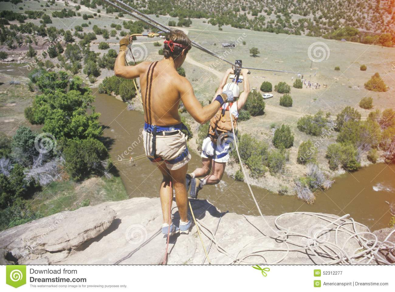 Overcoming fear by taking a leap of faith in Sante Fe New Mexico