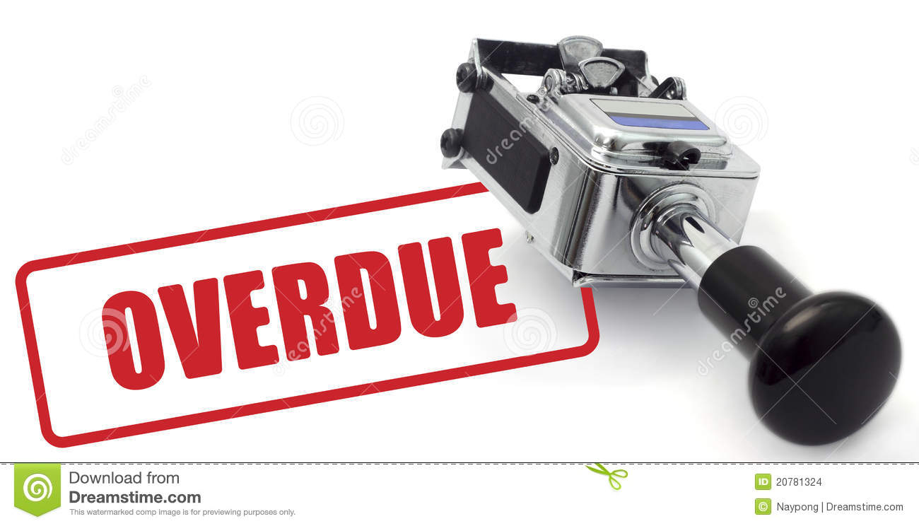 overdue stock images image 20781324